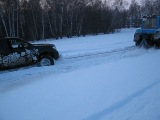 Дороги под снегом. Тула.